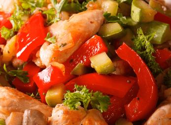 Estofado de Carne y Pollo con Verduras