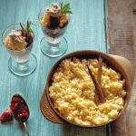 Cocina con imusa rice pudding
