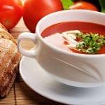 Receta sopa de tomate de imusa