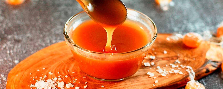 Salsa para pudines, helados y ensalada de frutas con  la licuadora Click & Mix