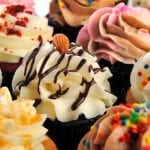Cupcake de leche