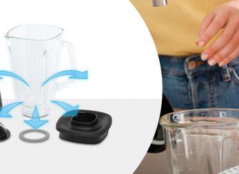 6 pasos para lavar la licuadora InfinyForce de Imusa