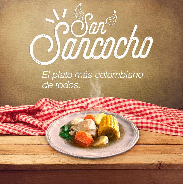 San sancocho el plato más colombiano de todos