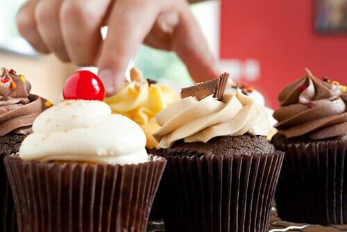Cupcake de chocolate en tu licuadora Click & Mix