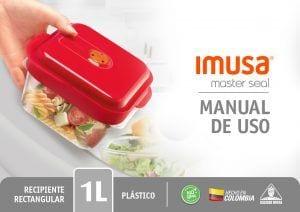 Manual de uso Imusa master seal