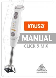 Manual de uso Click mix