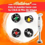 Batidora click & mix de imusa