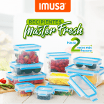 Recipientes máster fresh de imusa