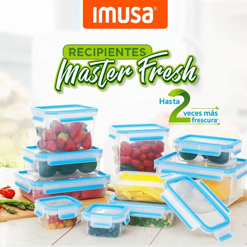 Recipientes máster fresh de imusa