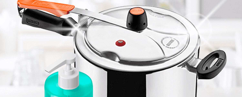 ¿Cómo limpiar la olla a presión Securyplus Control?