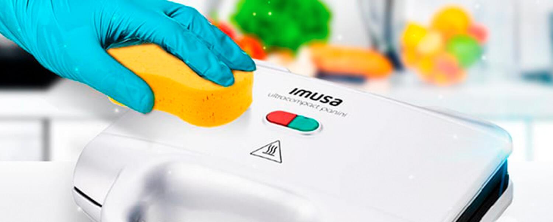 ¿Cómo limpiar correctamente las sanducheras Imusa?
