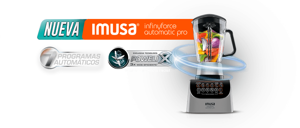 Nueva imusa influyfarce automatic pro