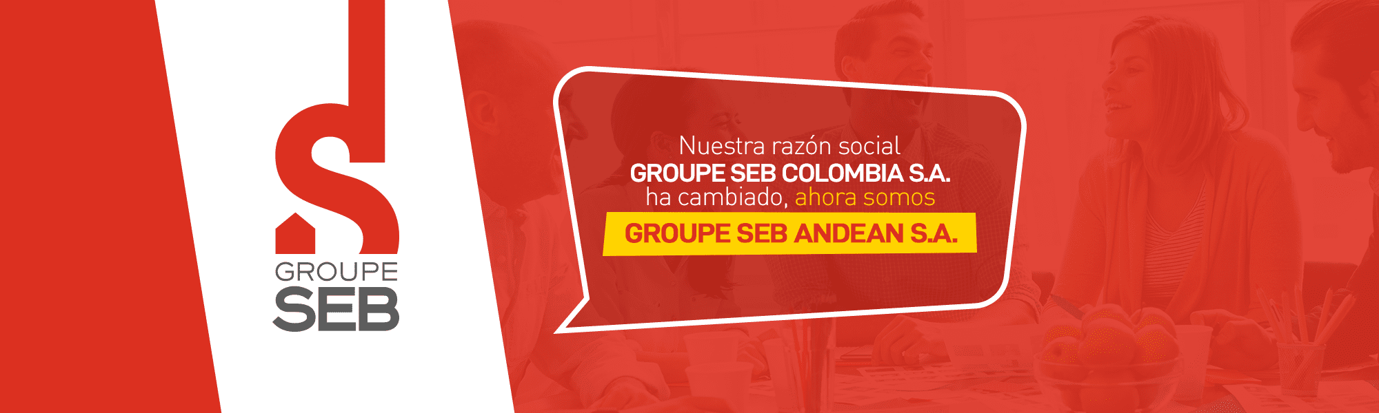 Banner group seb andean s,a