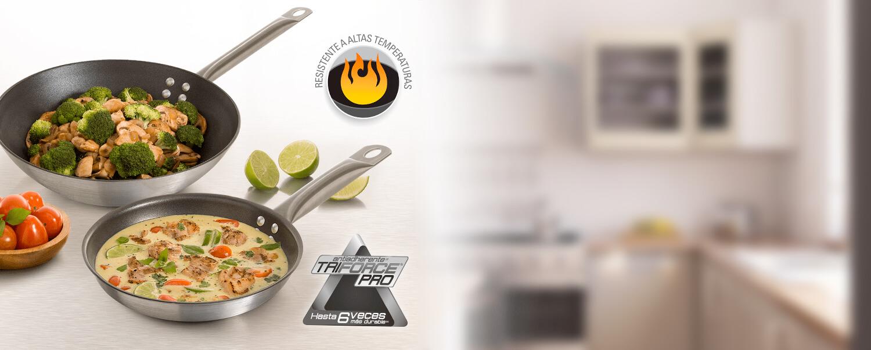 Todo lo que necesitas saber de los productos de cocción de la línea profesional de Imusa
