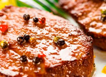 Lomo de cerdo con especias y panela